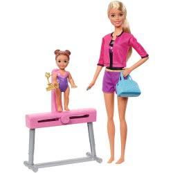 Mattel Barbie Σετ Επαγγέλματα Δασκάλα Αθλημάτων - Γυμνάστρια FXP39 887961697254