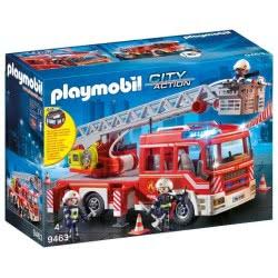 Playmobil Όχημα Πυροσβεστικής Με Σκάλα Και Καλάθι Διάσωσης 9463 4008789094636
