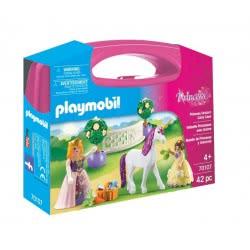 Playmobil Maxi Βαλιτσάκι Πριγκίπισσα με άλογο 70107 4008789701077