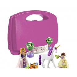 Playmobil Princess Unicorn Carry Case L 70107 4008789701077