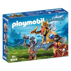 Playmobil Dwarf King with Guards 9344 4008789093448