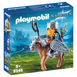 Playmobil Dwarf Fighter With Pony 9345 4008789093455