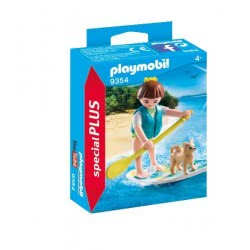 Playmobil Κορίτσι με Σανίδα SUP 9354 4008789093547