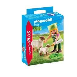Playmobil Αγρότισσα με Προβατάκια 9356 4008789093561