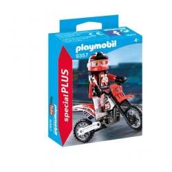 Playmobil Motocross Driver 9357 4008789093578
