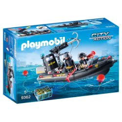 Playmobil Ταχύπλοο Ομάδας Ειδικών Αποστολών 9362 4008789093622