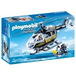 Playmobil Ελικόπτερο Ομάδας Ειδικών Αποστολών 9363 4008789093639