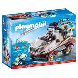 Playmobil Αμφίβιο Όχημα Ομάδας Ειδικών Αποστολών 9364 4008789093646