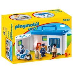 Playmobil Αστυνομικό Τμήμα Βαλιτσάκι 1.2.3 9382 4008789093820