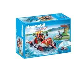 Playmobil Dino Hovercraft With Underwater Motor 9435 4008789094353