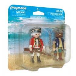 Playmobil Duo Pack Πειρατής Και Στρατιώτης 9446 4008789094469