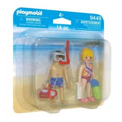 Playmobil Duo Pack Beachgoers 9449 4008789094490