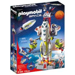 Playmobil Mission Rocket With Launch Site 9488 4008789094889