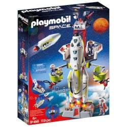 Playmobil Πύραυλος Διαστημικής Αποστολής Με Σταθμό Εκτόξευσης 9488 4008789094889