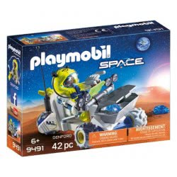 Playmobil Τρίκυκλο Διαστημικών Αποστολών 9491 4008789094919