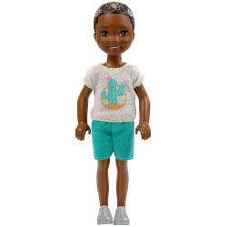 Mattel Barbie Club Chelsea: Τσέλσι Μπλουζάκι Άσπρο με Κάκτο DWJ33 / FHK94 887961523683