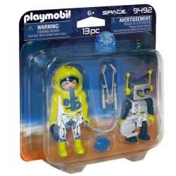 Playmobil Duo Pack Αστροναύτης Και Ρομπότ 9492 4008789094926