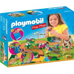 Playmobil Play Map Ponies 9331 4008789093318