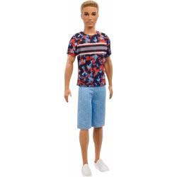 Mattel Barbie Ken Fashionistas No.118 Hyper Print DWK44 / FXL65 887961694710