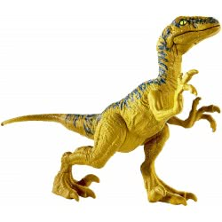 Mattel Jurassic World Basic Dinosaur Figures - Velociraptor Delta FPF11 / GCR46 887961733259