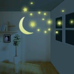 4M Φωσφορούχα Αστέρια και Φεγγάρι 5215 4893156052155
