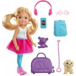 Mattel Barbie Dream House - Τσέλσι Έτοιμη Για Ταξίδι FWV20 887961683752