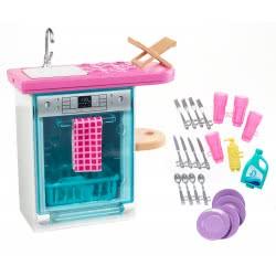 Mattel Barbie Έπιπλα Εσωτερικού Χώρου - Κουζίνα Με Αξεσουάρ FXG33 / FXG35 887961690576