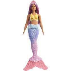 Mattel Barbie Dreamtopia Γοργόνες Και Νεράιδες - Γοργόνα Μωβ FXT08 / FXT09 887961698893