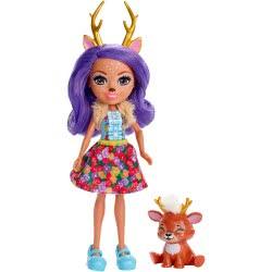 Mattel Enchantimals Κούκλα και Ζωάκι Danessa Deer and Sprint DVH87 / FXM75 887961695496