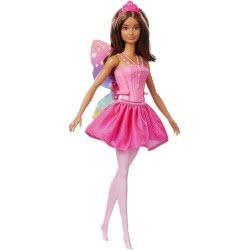Mattel Barbie Dreamtopia Νεράιδα Μπαλαρίνα Μελαχρινή FWK85 / FWK88 887961676501