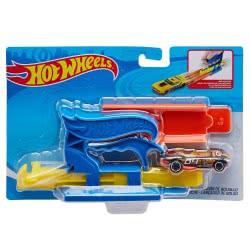 Mattel Hot Wheels Blue Pocket Launcher Accessory FTH84 / FVM08 887961662351
