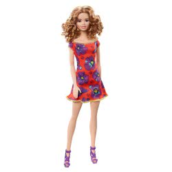 Mattel Barbie Flower Dresses - Orange GBK92 / GBK95 887961717037