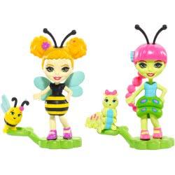 Mattel Enchantimals Ζουζουνάκια Φιλαράκια - Cay Caterpiller και Beetrice Bee FXM86 / FXM88 887961695663