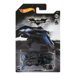 Mattel Hot Wheels Vehicle The Bat (The Dark Knight Rises) GDG83 / FYX90 887961749007