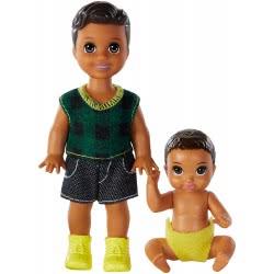 Mattel Barbie Skipper Babysitters Αδελφάκια Καστανα GFL30 / GFL32 887961764857