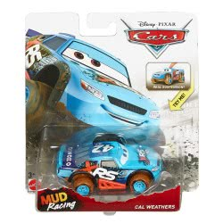 Mattel Cars Vehicle XRS Mud Racing Cal Weathers GBJ35 / GBJ39 887961715392