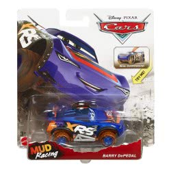 Mattel Cars Vehicles XRS Mud Racing Barry Depedal GBJ35 / GBJ41 887961715347
