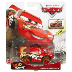 Mattel Cars Αυτοκινητάκια XRS Mud Racing Lighting Mcqueen GBJ35 / GBJ36 887961715361