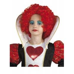 CLOWN Wig Queen Of Hearts 70652 5203359706523