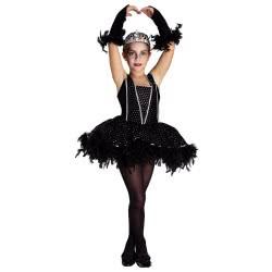 CLOWN Carnaval Costume Black Swan Νο. 04 94004 5203359940040