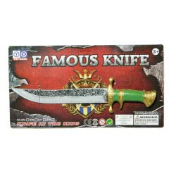 maskarata Famous Knife Of Knight With Green Handle ΚΚ08005 6991286080050