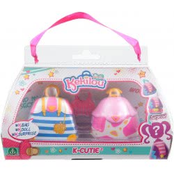 GIOCHI PREZIOSI Kekilou K-Cutie Set Of Two Dolls - 6 Designs KKL01000 8056379051237