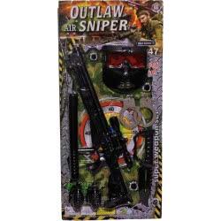 maskarata Outlaw Air Sniper Σετ Κομάντο Super Weapon Set ΚΚ80919 6991200809194