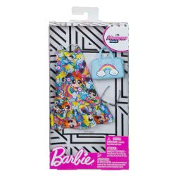 Mattel Barbie Πρωινά Σύνολα - Διάσημες Μόδες Powerpuff Girls FKR66 / FXK66 FYW81 / FXK66 887961694222
