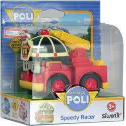 Silverlit Robocar Poli Αυτοκινητάκι Speedy Racer - 3 Σχέδια 1003-83183 4891813831839