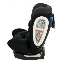 just baby Κάθισμα Αυτοκινήτου MasterFix 0-36kg Μαύρο JB-2018-BLACK 5202200001589