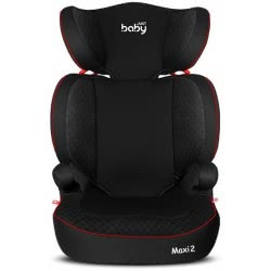 just baby Κάθισμα Aυτοκινήτου Aσφαλείας Maxi 2 15-36kg Μαύρο JB-2014-BLACK-V2 9140520142697