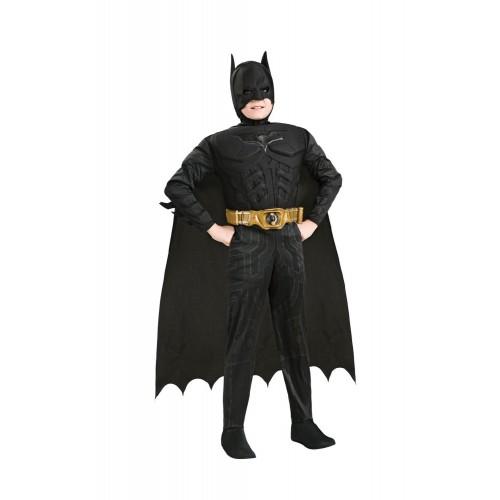 Rubies Αποκριάτικη Στολή Deluxe Batman Dark Knight Trilogy (7-8 χρονών) 881290L 883028129072