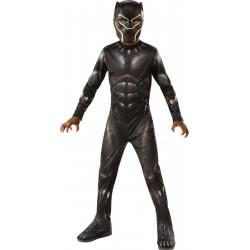 Rubies Αποκριάτικη Στολή Μαύρος Πάνθηρας Black Panther (8-10 Χρονών) 641046L 883028298471
