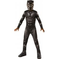 Rubies Carnaval Costume Black Panther (8-10 Years) 641046L 883028298471